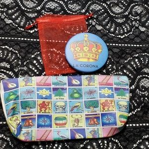 Accessories - Loteria Clutch and Mirror